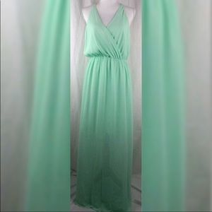 Gianni Bini mint long dress
